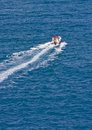 Fast Boat Speeding Away Stock Images - 11764404
