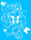 Beautiful Butterfly Spirals Royalty Free Stock Photography - 11780517