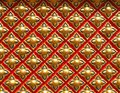 The Magic Of Geometry At A Buddhist Temple Royalty Free Stock Photo - 117924795