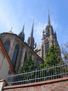 Cathedral Of St. Peter And Paul (Petrov) In Brno, Czech Republic. Royalty Free Stock Photo - 1184865