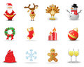 Christmas Icons 2 Royalty Free Stock Photography - 11810017