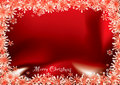 Christmas Red Flake Stock Photography - 11815132