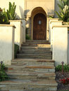 Slate Steps Leading To Door Stock Photography - 11822302