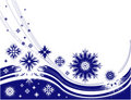 Winter Frame With Snowflakes Stock Photo - 11829740