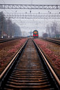 Train Rails Royalty Free Stock Images - 11830479