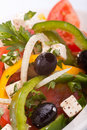 Close Up Healthy Greek Salad Royalty Free Stock Images - 11840429