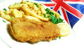 Fish And Chips Royalty Free Stock Image - 11853086