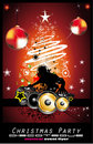 Abstract Christmas Music Disco Background Stock Images - 11868184