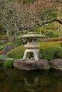 Traditional Japanease Garden Lamp Royalty Free Stock Images - 11889469