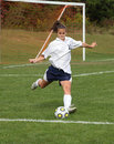 Teen Youth Soccer  Action 20 Royalty Free Stock Photo - 11896585