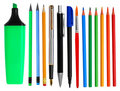 Pens And Pencils Royalty Free Stock Photos - 11930168
