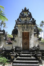 Balinese Temple Gates Bali Indonesia Royalty Free Stock Photo - 11935895