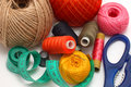 Threads And Needle Royalty Free Stock Images - 11980689