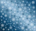 Snowflake Background Royalty Free Stock Photography - 11985547