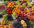 Fruit And Vegetables On A Market Royalty Free Stock Images - 11987069