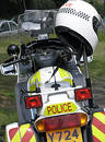 Police Motorcycle Royalty Free Stock Photo - 123955