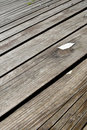 Wooden Brown Floor Outside Stock Image - 12000731