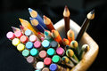Colored Pencils Royalty Free Stock Images - 12078669