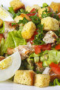 Fried Chicken Salad Royalty Free Stock Images - 12114989