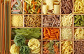 Italian Pasta Collection Stock Photos - 12116713