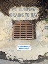 No Dumping! Stock Image - 12120551