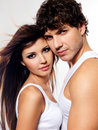 Two Beautiful Lovers Stock Photos - 12136613