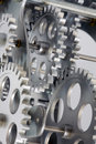 Part Of Gears. Royalty Free Stock Image - 12137166