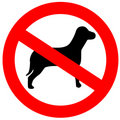 No Dogs Stock Photography - 12150362