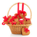 Christmas Basket Stock Images - 12165224