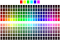 Color Chart Stock Image - 12167441