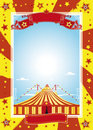 Nice Circus Poster Royalty Free Stock Photos - 12170778
