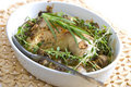 Chicken With Champignons Stock Photos - 12176173
