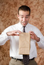 Employee Lunch Time Stock Image - 12190411
