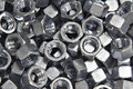 Pile Of Hex Nuts Stock Photography - 1223132