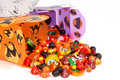Halloween Candy In Chinese Containers Stock Images - 1226264