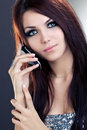 Woman With Mobile Phone Royalty Free Stock Photo - 12205215