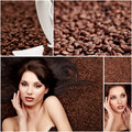 Coffee Collage Royalty Free Stock Images - 12220069