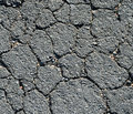 Black Asphalt Cracked Royalty Free Stock Photo - 12226865