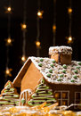 Gingerbread House Stock Image - 12240831