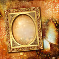Background With Frame Royalty Free Stock Images - 12248289
