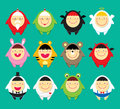 Cute Doodle Icons Stock Photo - 12261410