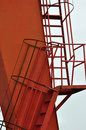Detail Of Ladder For Construction Equipment Stock Images - 12269884