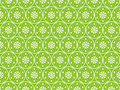 Green Seamless Flower Background Stock Image - 12271461