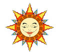 Sun Face Stock Photos - 12316193