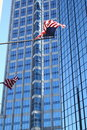 Tampa Highrise With Flags Stock Photos - 12339673