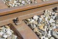 Railroad Rail And Ties Stock Images - 12341494