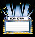 Broadway Movie Marquee Royalty Free Stock Image - 12359516