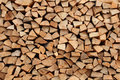Stack Of Firewood Stock Images - 12386084