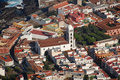 Old Town With Church, Tenerife Stock Photography - 12387132