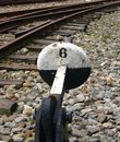 Old Railway Switching Device Royalty Free Stock Photos - 1240168